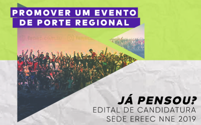 Edital: Sede do EREEC NNE 2019