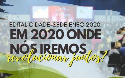 EDITAL CIDADE-SE ENEC 2020