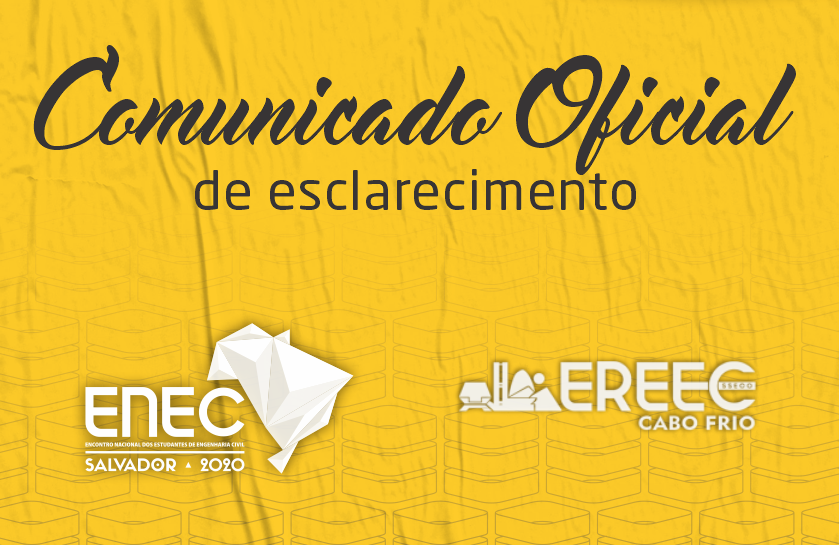 Comunicado Eventos